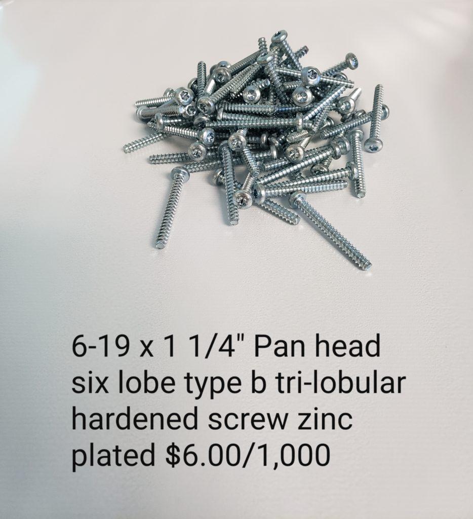6 X 1.25 TY B TRILOB